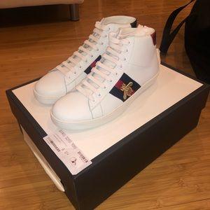 Men's Gucci Ace High Top Sneaker